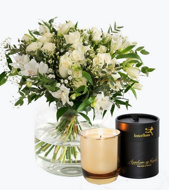 Classic White with Scented candles