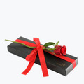 Red Rose With Luxury Confectionery