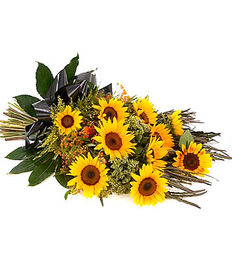 Sympathy Sunflower Bouquet