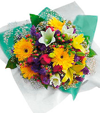 Mixed Cut Flowers in Multi Colors