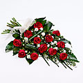 Classic Rose Sheaf - Red