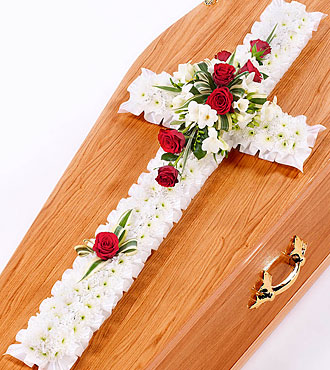 Classic Cross - White And Red