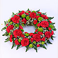Classic Wreath- Red and Green