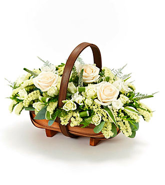 Mixed Basket White