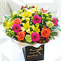 Large Vibrant Hand Tied Bouquet