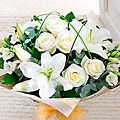 Wonderfully White Hand Tied Bouquet