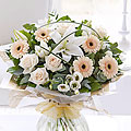 Cream Exquisite hand tied