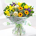 Mother's Day Spring Sunhine Hand Tied Bouquet
