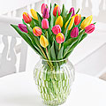Mother's Day Mixed Tulips Vase