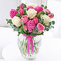 Happy Birthday Scented Springtime Vase