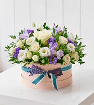 Refreshing Lilacs Hatbox
