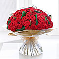 Unforgettable 50 Rose Hand–tied