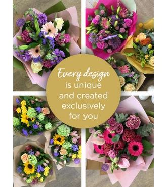 Standard Florist Choice Hand Tied