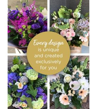 Large Florist Choice Hand Tied