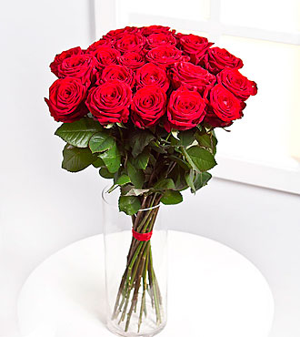 Bouquet of 15 Red Roses