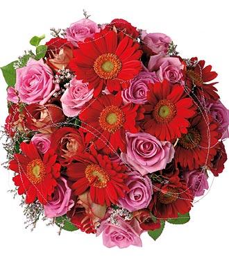Bouquet of Roses & Gerbera