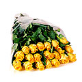 Bunch of 20 Stems Yellow Roses