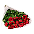 Bunch of 20 Stems Red Roses