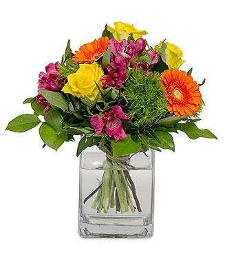 Happy flower mail