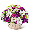 The FTD® Blooming Bounty Bouquet - Basket included