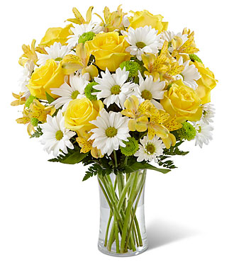 Sunny Sentiments - Vase Included