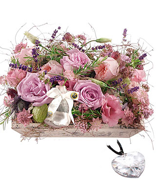 Fragrant Jewel Box with Swarovski® Crystal Heart