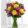 The FTD® Happy Times Bouquet - incl. vase