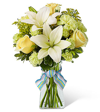 The FTD® Boy-Oh-Boy Bouquet - Incl. vase