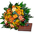 Cheerful Bouquet with cho cho (9 pcs.)