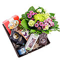 Gift Box with Bouquet- Florist's Choice