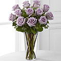 The Lavender Rose Bouquet - VASE INCLUDED