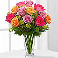 The Pure Enchantment™ Rose Bouquet - Vase Included