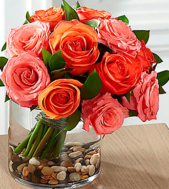 Blazing Beauty™ Rose Bouquet