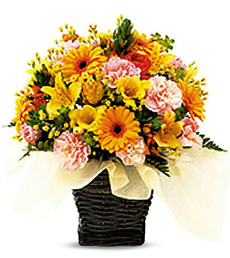 Seasonal Arrangement (Yellow & Orange)