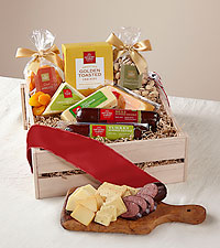 Christmas Meat & Cheese Gift Crate