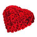 Heart Arrangement of Roses
