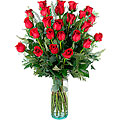 Pasion, 24 Long-Stemmed Red Roses