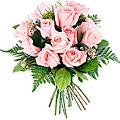 Gracias, 12 Short-Stemmed Pink Roses.