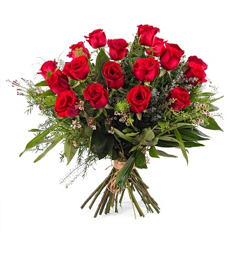 18 Long-stemmed Red Roses