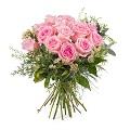 15 Short-stemmed Pink Roses