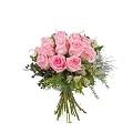 12 Short-stemmed Pink Roses