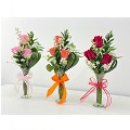 Arrangement of 3 roses