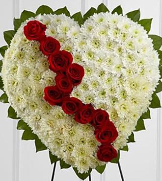 Broken Heart Wreath