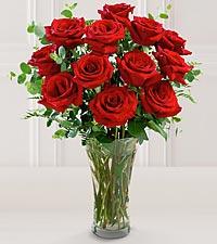 Le bouquet de roses à longues tiges FTD® de qualité supérieure