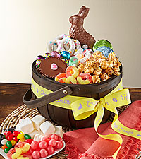 Hop to It Candy & Chocolates Easter Basket