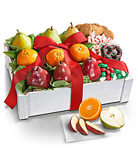 Holiday Classic Fruit & Sweets Gift Crate