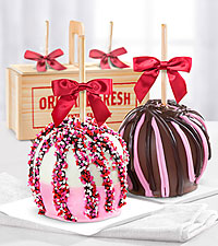 Love is Sweet Caramel Apples