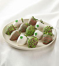 Full Dozen St. Patrick's Day Chocolate-Covered Strawberries