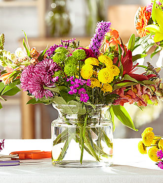Bold & Bright – Bouquet original du fleuriste