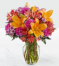 The FTD® Light of My Life™ Bouquet- VASE INCLUDED